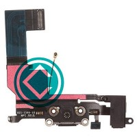 Apple iPhone 5S Charging Port Flex Cable Module - Black